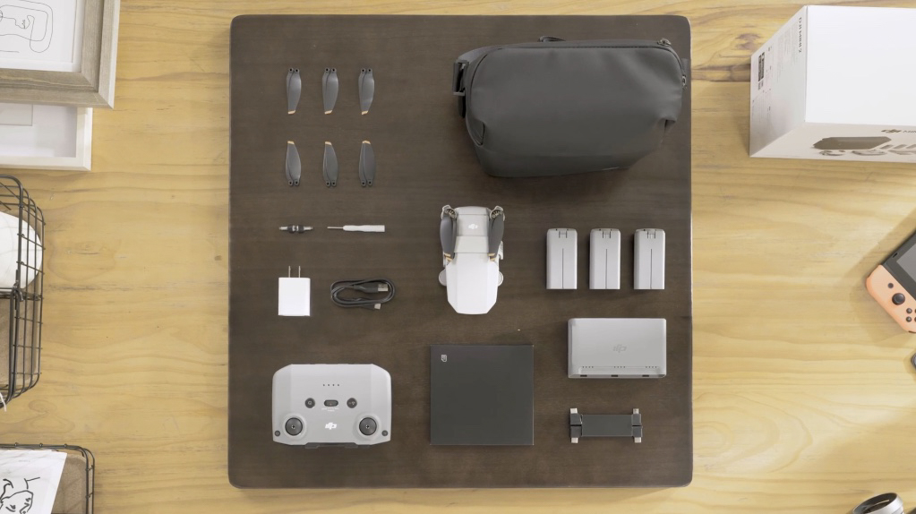 DJI Mini 2 Unboxing: What's Inside the Box